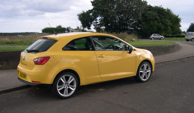 Seat Ibiza Sportrider, 1.4, 3 Door Hatchback in Yellow full