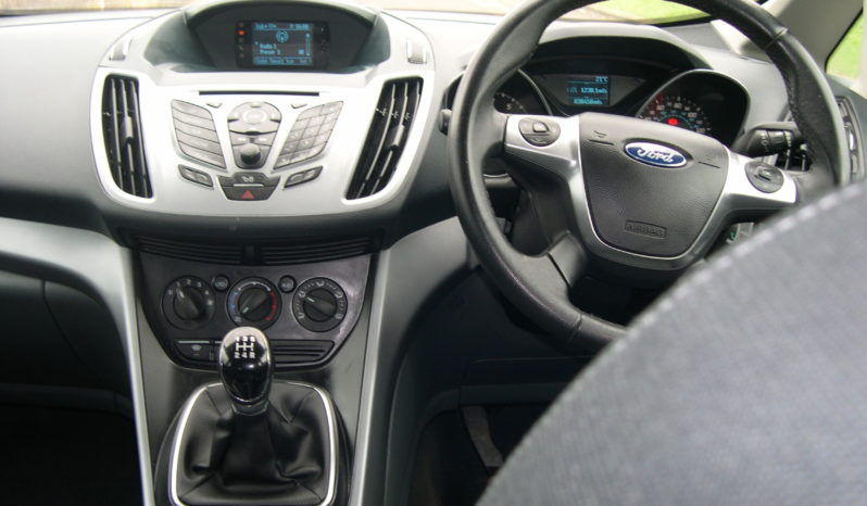 Ford C-MAX ZETEC 1.6 5Dr in Brown full