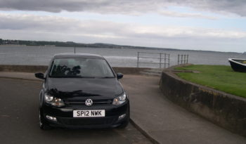 Volkswagen Polo Match 60, 1.2, 5Dr in Black full