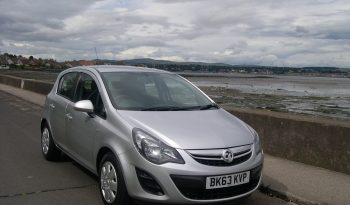 Vauxhall Corsa Exclusiv AC SA, 5Dr hatch in Silver full