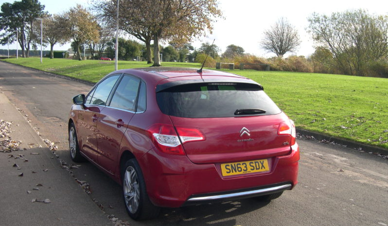 Citroen C4 Selection, 1.6 Hatch in Red full